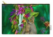 Cat In Tropical Dreams Hat Carry-all Pouch