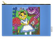 Cat In Wonderland Carry-all Pouch