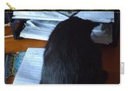 Cat Inbox Carry-all Pouch