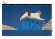 Cat Jumping A Gate Carry-all Pouch