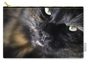 Cat Looking Up Carry-all Pouch