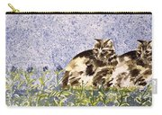 Cat Mint Wc On Paper Carry-all Pouch