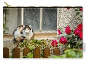 Cat On A Sill Carry-all Pouch