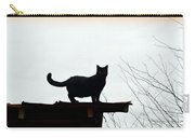 Cat On A Tin Roof 2 Carry-all Pouch