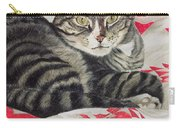 Cat On Quilt  Carry-all Pouch