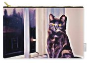 Cat On Window Sill Carry-all Pouch