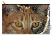 Cat Stare Down Carry-all Pouch