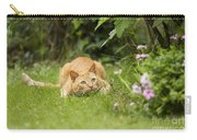 Cat Watching Prey Carry-all Pouch
