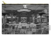 Catal Outdoor Cafe Downtown Disneyland Bw Carry-all Pouch