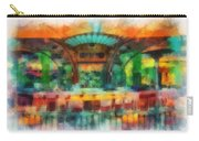 Catal Outdoor Cafe Downtown Disneyland Photo Art 01 Carry-all Pouch