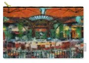 Catal Outdoor Cafe Downtown Disneyland Photo Art 03 Carry-all Pouch