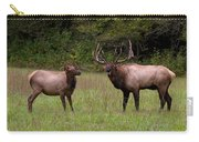 Cataloochee Elk Bull And Cow Carry-all Pouch