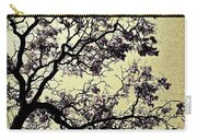 Catalpa Tree Gold Carry-all Pouch