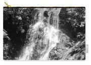 Cataract Falls Smoky Mountains Bw Carry-all Pouch