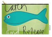 Catch And Release Carry-all Pouch by Linda Woods