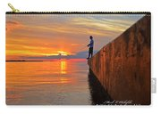 Catching A Navarre Sunset Carry-all Pouch