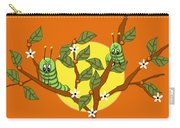Caterpillars In The Orange Tree Carry-all Pouch