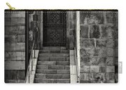 Cathedral Door And Steps Carry-all Pouch