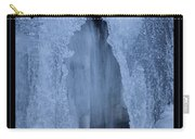 Cathedral Ice Waterfall Carry-all Pouch