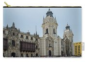 Cathedral Of Lima Carry-all Pouch