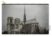Cathedral Of Notre Dame De Paris Carry-all Pouch by Marco Oliveira