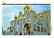 Cathedral Of The Annunciation Inside Kremlin Walls In Moscow-russia Carry-all Pouch