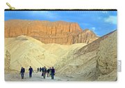 Cathedral Peaks From Golden Canyon In Death Valley National Park-california Carry-all Pouch