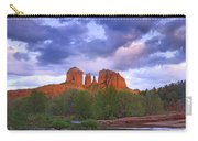 Cathedral Rock And Oak Creek At Red Carry-all Pouch by Tim Fitzharris
