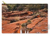 Cathedral Rock In Winter Carry-all Pouch