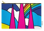 Cathedral Spires Stained Glass Lichfield Carry-all Pouch