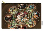 Cathedral Stained Glass Carry-all Pouch