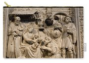 Cathedral Wall Nativity Sculpture Carry-all Pouch