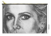 Catherine Deneuve In 1976 Carry-all Pouch by J McCombie