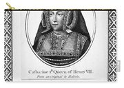 Catherine Of Aragon (1485-1536) Carry-all Pouch