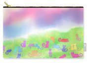 Cats In The Meadow Carry-all Pouch