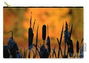 Cattail Silhouette Carry-all Pouch