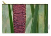 Cattail With Texture Carry-all Pouch