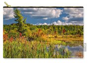 Cattails And Clouds Carry-all Pouch