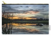 Cattails And Sunset Carry-all Pouch