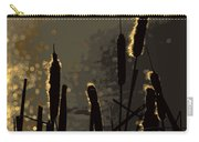 Cattails At Sunset Carry-all Pouch