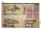Cattle Arrived Carry-all Pouch