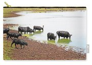 Cattle At Big Lake Arizona Carry-all Pouch