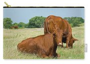 Cattle Grazing In Field Carry-all Pouch