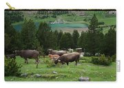 Cattle Grazing In The Pyrenees Carry-all Pouch
