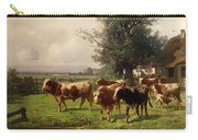 Cattle Heading To Pasture Carry-all Pouch