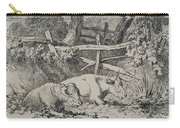 Cattle Resting Carry-all Pouch