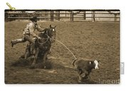 Cattle Roping In Colorado Carry-all Pouch