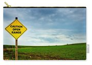 Caution Open Range Carry-all Pouch