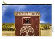 Caution - Reality Ahead Carry-all Pouch