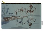 Cautious Creek Crossing Carry-all Pouch